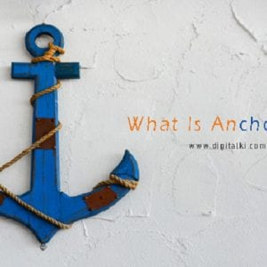 What is the Anchor Tag