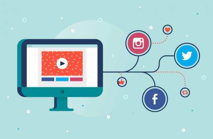 Share Videos On Social Media